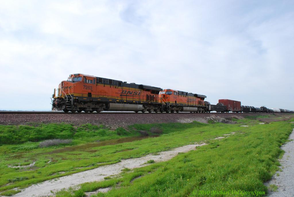 BNSF 7263